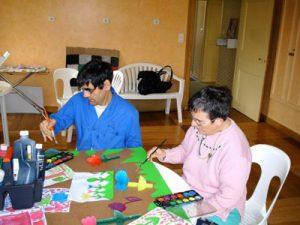 Des activités de maintien des acquis et de type travail