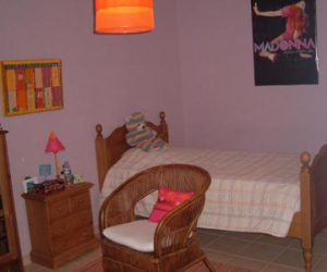 Le résidant dispose d'une chambre individuelle pouvant posséder un cabinet de toilette.