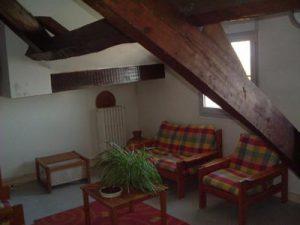 L'hébergement peut également se faire dans des appartements.